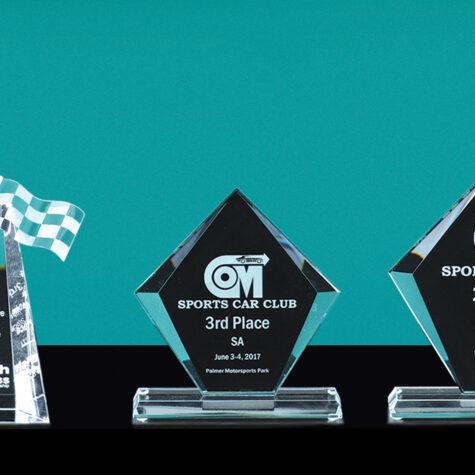 Black/Clear Diamond Award