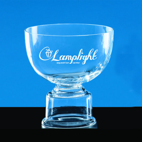 Crystal Revere Bowl with base
