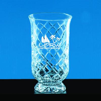 Crystal Hurricane Vase (Small)