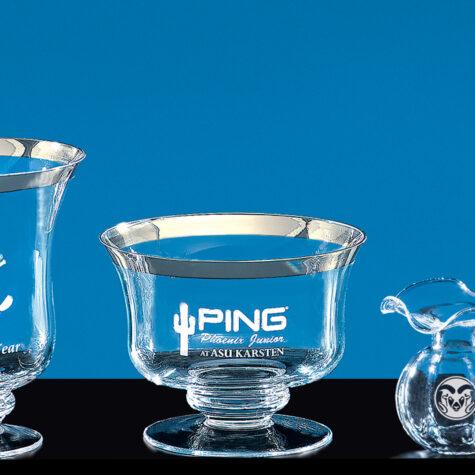 Medalist Bowl with Platinum Rim