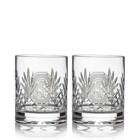 Set of 2 Double Old Fashioned Glasses