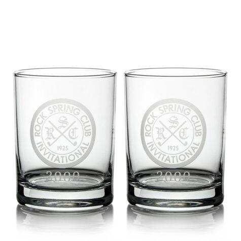 Set of 2 Glasses