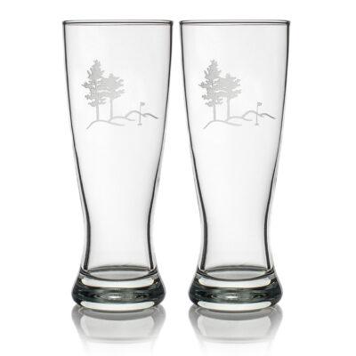 Set of 2 Grand Pilsner Glasses