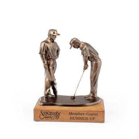 Partners Statue