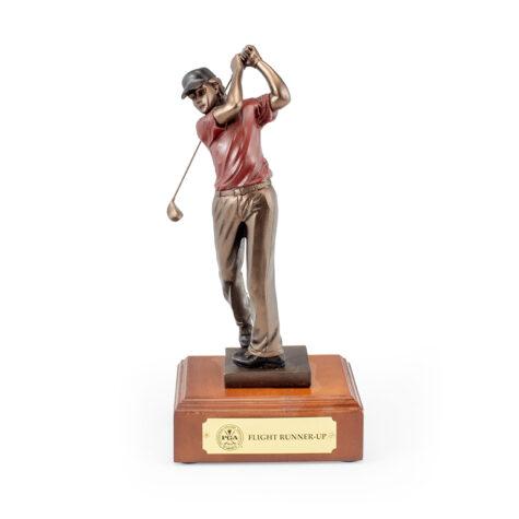 Male Golf Statue
