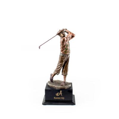 Joe Mead Golf Statue