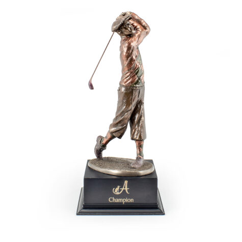 Joe Mead Golf Statue