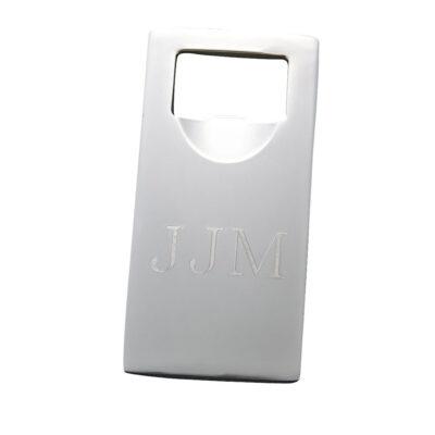 Silver-Plate Bottle Opener