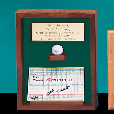 Hole in One Shadow Box