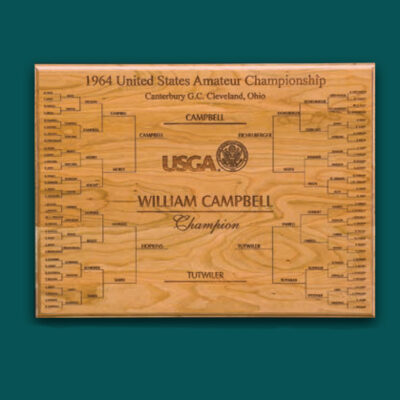 Wood Championship Plaque
