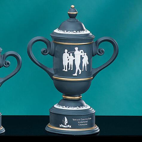 Charcoal Ceramic Golf Cup