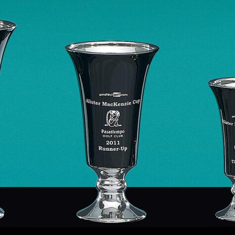Ceramic Trumpet Trophy
